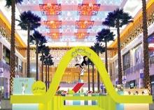 دائرة التنمية الاقتصادية في دبي تفتتح قرية المستهلك الصغير