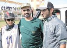 فطيم بنت محمد آل مكتوم تتوج بلقب سباق مدينة دبي للقدرة