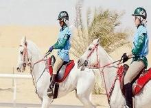 انطلاق سباق الشيخة فاطمة بنت مبارك للقدرة للسيدات
