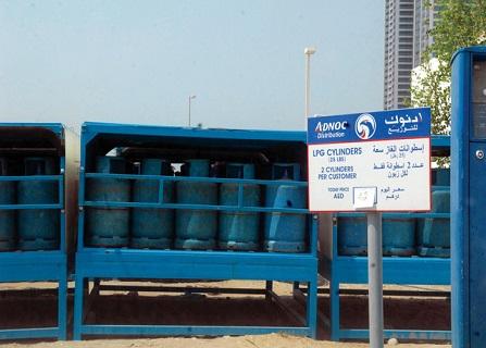 تخفيض أسعار تعبئة اسطوانات الغاز في المناطق الشمالية