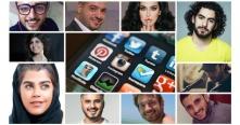 تعرفوا على عشرة من ألمع نجوم مواقع التواصل الاجتماعي العرب