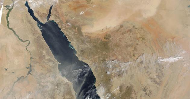 وصل ضفاف البحر الأحمر