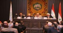 الوفد التجاري العراقي يبحث إنشاء مصرف مشترك وتعزيز التبادل