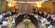 مباحثات سورية بلجيكية لتطوير العلاقات الاقتصادية بين البلدين