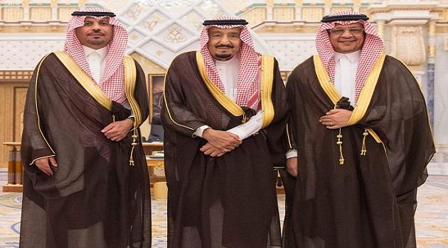 أمام الملك سلمان.. وزيرا الحرس الوطني والاقتصاد يؤديان القسم