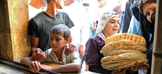 ضبط مخابز في ريف دمشق تغش الرغيف بالخبز اليابس