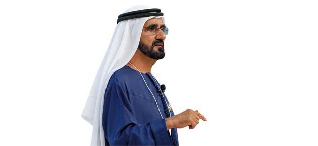محمد بن راشد يشيد بنجاح رجل أعمال سوري