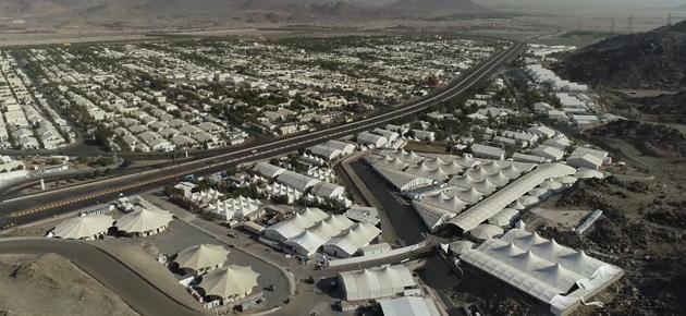 البداد للمناسك ترفع حجم قاعات الحجاج المتنقلة إلى 1.5 مليون متر مربع