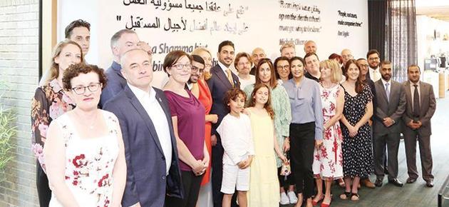 جامعة كامبريدج تكرم شمّا بنت سلطان بوضع مقولة لها في حرم معهد مولر