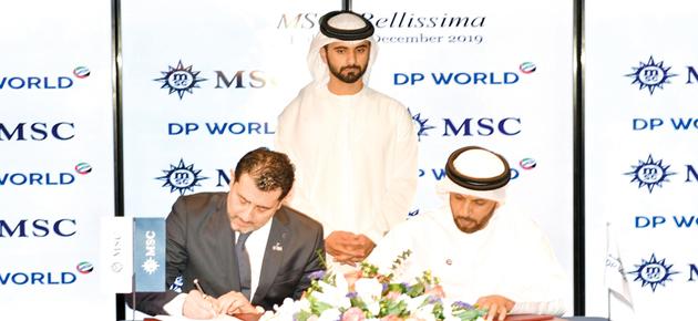 موانئ دبي تبرم اتفاقية لجذب مليون سائح بحري خلال 5 سنوات
