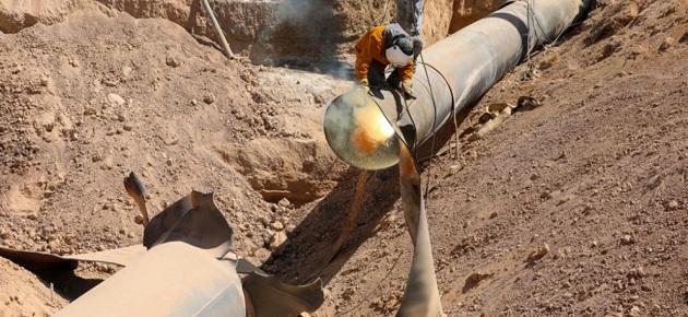 خط الغاز العربي