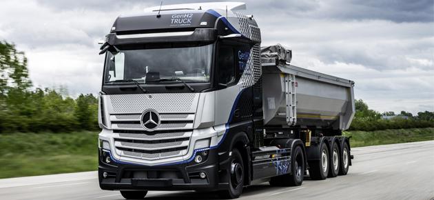 دايملر تطرح أول شاحنة كهربائية نهاية الشهر الجاري
