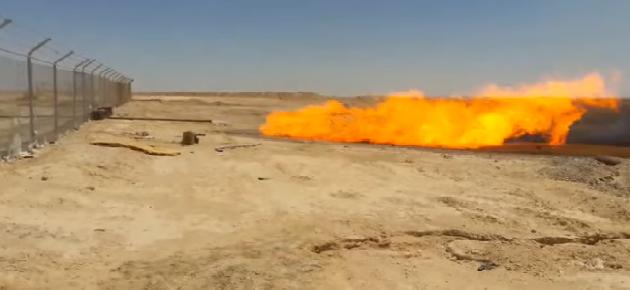 وزارة النفط تعلن وضع بئر غاز شريفة 6 في الإنتاج