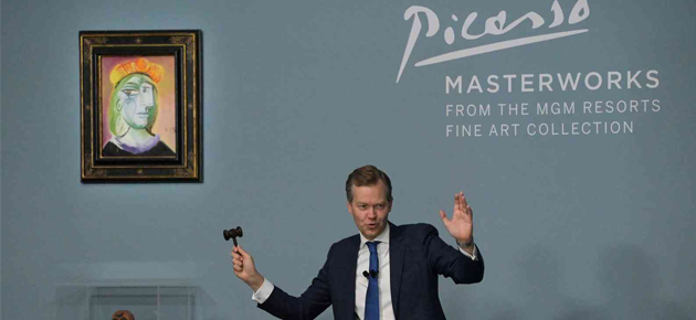 بيع 11 لوحة لبيكاسو بأكثر من 100 مليون دولار في مزاد